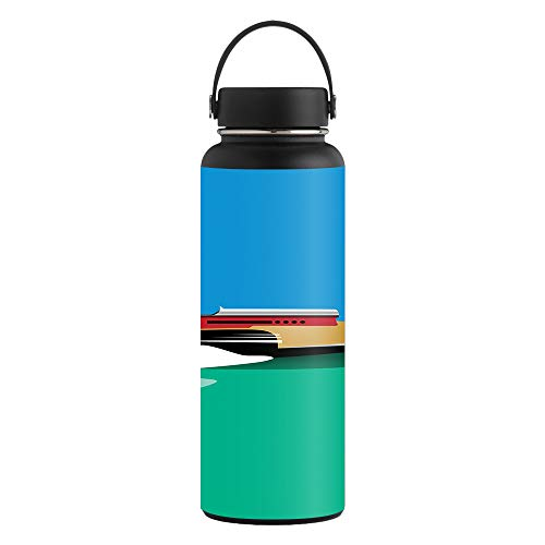 MightySkins Skin for Hydro Flask 40 oz. Wide Mouth - Speed Boat | Protective, Durable, and Unique Vinyl Decal wrap Cover | Easy to Apply, Remove, and Change Styles | Made in The USA