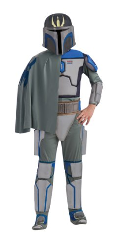 Cheap Star Wars Costumes (Star Wars The Clone Wars, Child's Deluxe Costume And Mask, Pre Vizsla Costume (Large))