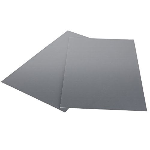 Neewer Extra Large Size 2 Gray Card Set, 19.2x9.84 inches/49x25centimeters Balance Card/Calibrated Reference Card for Digital and Film ()