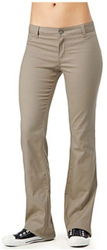 Dickies Girl Junior's Worker Boot Cut Pant, Khaki