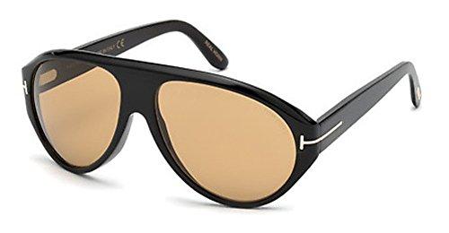 Tom Ford Sonnenbrille Tom N.8 (FT0490-P) horn schwarz