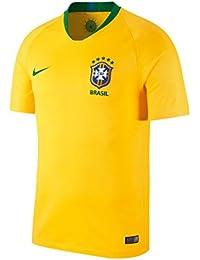 2018-2019 Brazil Home Football Shirt