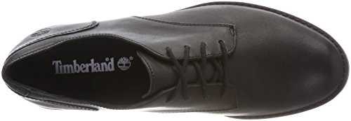 de Black Zapatos para Forty Oxford Mujer Cordones 001 Tbl Negro Magby Timberland qfEwga6