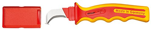 GEDORE VDE 4527 K VDE Cable Knife with Hooked Blade