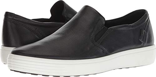 ECCO Men's Soft 7 Casual Loafer Sneaker Black 41 M EU (7-7.5 US)