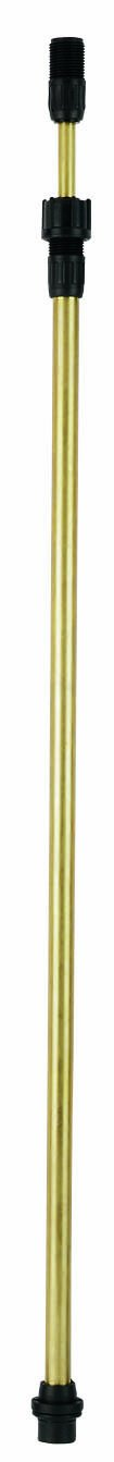 Solo 4900478 Sprayer Brass Telescoping Wand, 23 to 40 Inches