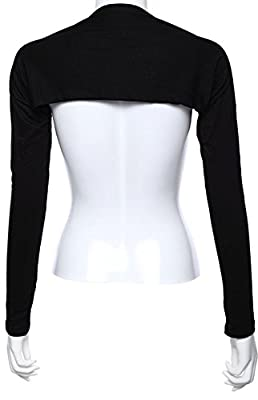 Bolero Shrug Womens Long Sleeved Bolero-style Arm Sleeves - Hijab Accessories