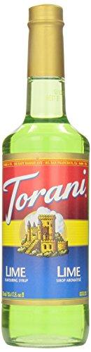 Torani Lime Syrup, 750 ml