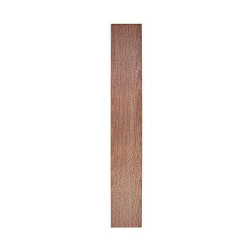 MAYKKE 18 Sq Ft Reclaimed Pecan Luxury Vinyl Interlocking Plank Flooring 48x7 inch Resembles Hardwood (Pack of 8) Easy Install in Your Kitchen, Bathroom, Hallway, Living Room JHA1020101