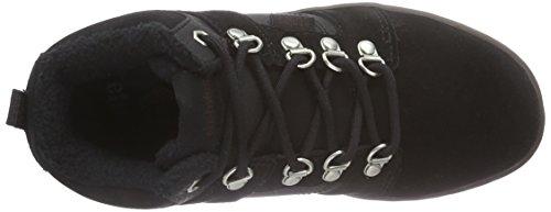 Etnies KIDS HIGH RISE - Zapatillas deportivas altas de cuero para niños/niñas Negro (Schwarz (Black/Brown))