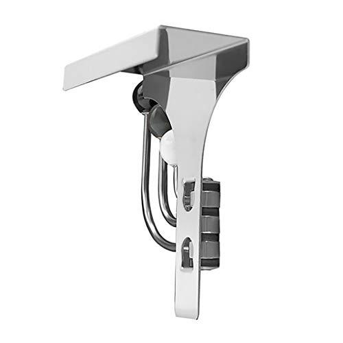 Alimao Over-The-Door Hook Rack Metal 3 Hooks Hanger Storage Holder Hanging Coat Hat A