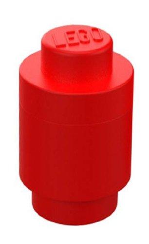 LEGO Round Storage Box Red