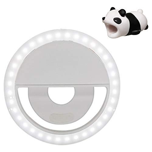 Selfie Light Ring Bundle with Panda- Phone Ring Light ()