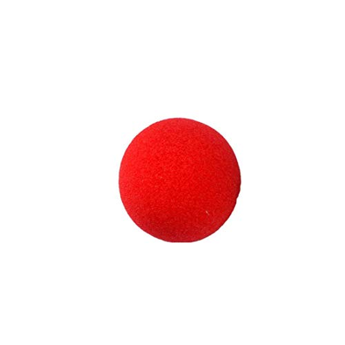 Mysky Halloween Costume Accessory,Novelty Red Foam Clown Noses for Halloween Parties -