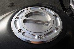 Silver Cnc Kawasaki Gas Fuel Cap Ninja 500 500r Ex500