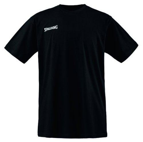 Spalding Herren T-Shirt Basic Shirt, schwarz, XXXL, 300200703