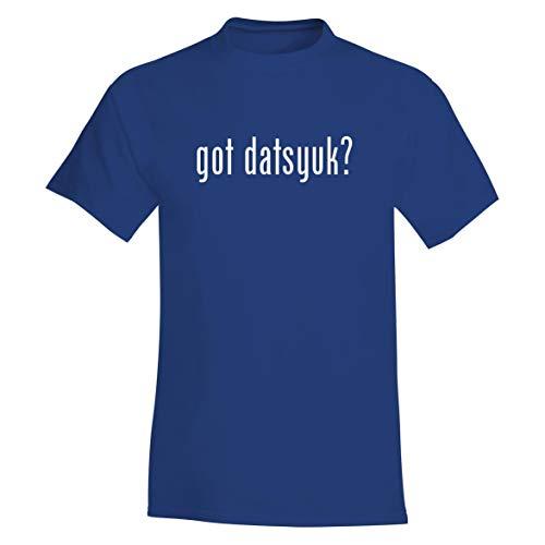 - The Town Butler got Datsyuk? - A Soft & Comfortable Men's T-Shirt, Blue, Large