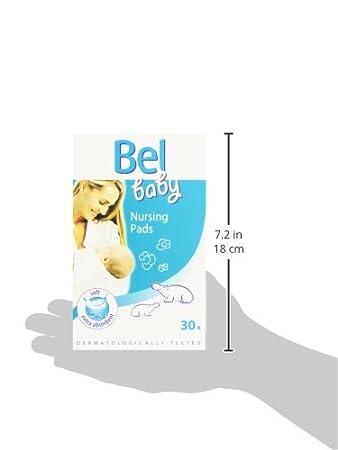 BEL BABY discos protector de lactancia 30 pz: Amazon.es: Salud y cuidado personal