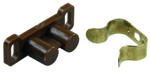 JR Products 70205 Barrel Catch with Metal Clip - Pack of 6 ()