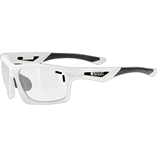 Uvex Sportstyle 700 Variomatic Sunglasses White, One Size - Men's by Uvex
