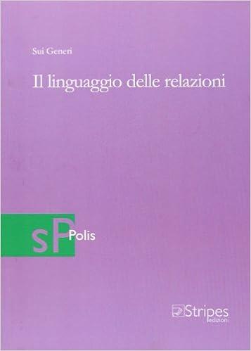 Book Il linguaggio delle relazioni