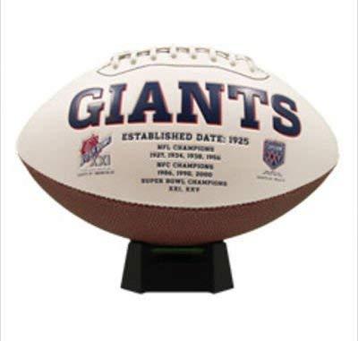New York Giants Signature Series Football