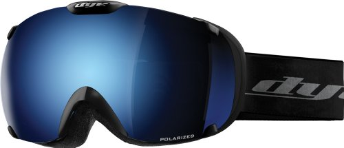 Dye Snow T1 Goggle, Black, Blue Ice Polarized/HD, Outdoor Stuffs