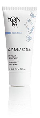 YON-KA ESSENTIALS GUARANA SCRUB Exfoliant (1.8 Ounce / 50 Milliliter) - Double-Bead Exfoliation To Purify, Polish and Invigorate Your Skin