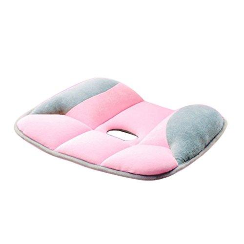 shuohu cojín de asiento ortopédico de Yoga–Ayuda con dolor de espalda ciática–perfecto para silla de oficina y...
