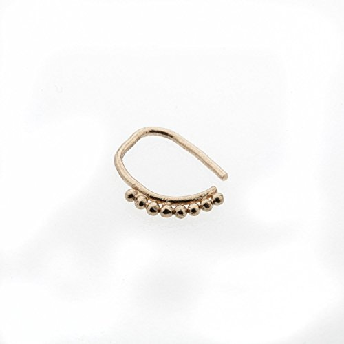 Amazon Rose Gold Nose Ring 14K Nose Piercing Nose Hoop