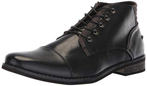 - Deer Stags Men's Rhodes Memory Foam Dress Comfort Casual Fashion Cap Toe Chukka Boot, Black, 8.5 Medium US