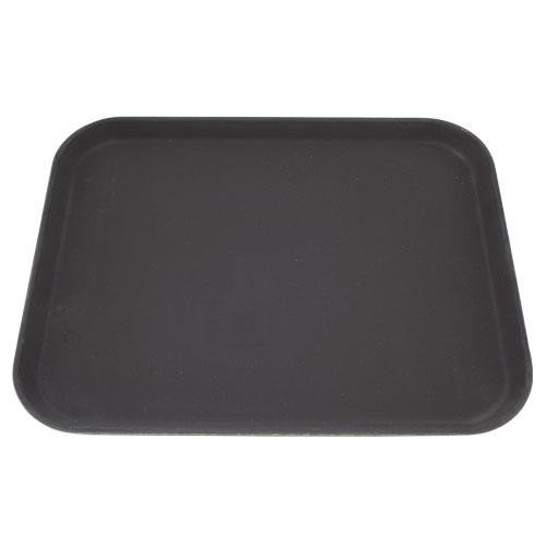Carlisle - 1814GR004-14 in by 18 in Griptite Rectangular Black Serving Tray