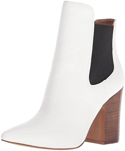 Chinese Laundry Kristin Cavallari Womens Starlight Ankle Boot  Black White Leather  6 M Us