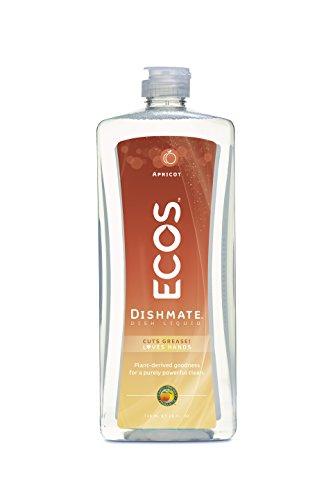 ECOS Dishmate Dish Liquid, Apricot 25 oz. (Pack of 2)