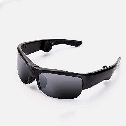 LQHLP Bone Conduction Bluetooth Sports Earphone Glasses Bone Conduction Bluetooth Headset Smart Sun Eye Sunglasses Running, Riding, Driving
