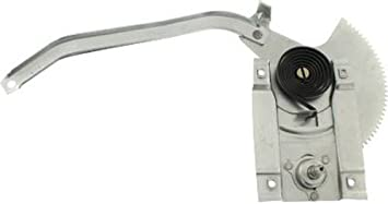 CPP Front Passenger Side Window Regulator with Manual Crank for 1966 Ford Mustang