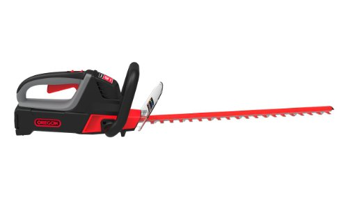 Oregon CORDLESS 40 Volt MAX HT250-E6 Hedge Trimmer Kit with 2.4 Ah Battery Pack and C600 Charger