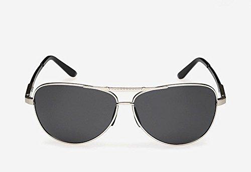 De Hombres Gafas Sol El Silver De Aluminio Magnesio Polarizado Brillante Capullos Color Conducir Caminante Espejo Nuevo Espejo Pq8HyU