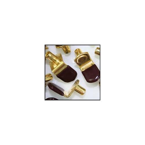 WIDGETCO 1//4 NickelL Shelf Pins w//Vinyl