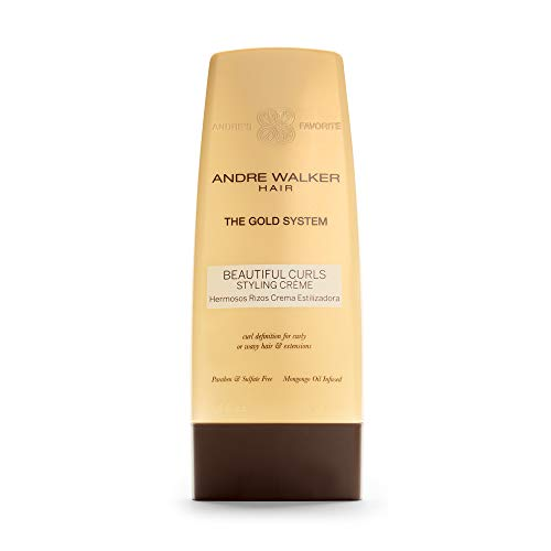 autiful Curls Styling Crème, Official Gold System 8.5 Fl Oz | Paraben, Sulfate Free, for Curly or Wavy Hair, Safe for Color Treated Hair, Infused with African Mongongo Oil ()
