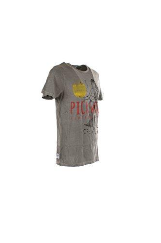 T-shirt Uomo Pickwick S Grigio Pcesarm355 Primavera Estate 2017