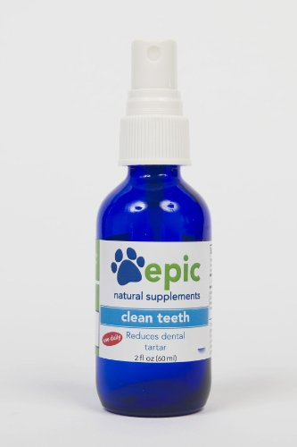 Clean Teeth – Reduces Tartar and Promotes Healthy Teeth Naturally (Spray, 2 ounce), My Pet Supplies