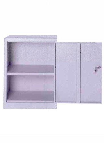 COARME - Mobile armadio basso multiuso in metallo misura 60x40x102h con ripiano e serratu