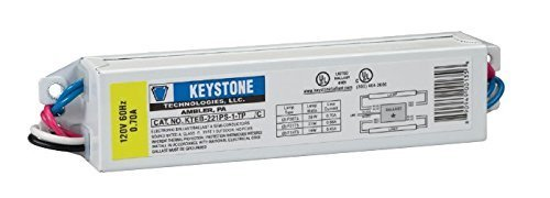 Keystone KTEB-221PS-1-TP Residential Use Only Electronic Ballast 2x F21T5 - 120V (Electronic Residential Ballast)