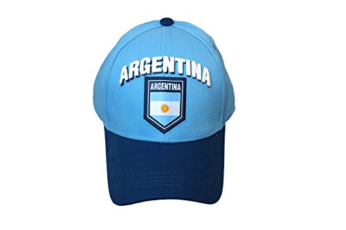 Argentina Soccer Team Authentic Official Licensed Soccer Cap, One Size -001