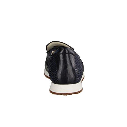 XSENSIBLE Vilar 200032210- Bequemschuhe/Lose Einlage Damenschuhe Bequeme Ballerina/Slipper, Blau, stretchleder (Sehr Dehnbar), Absatzhöhe: 15 mm
