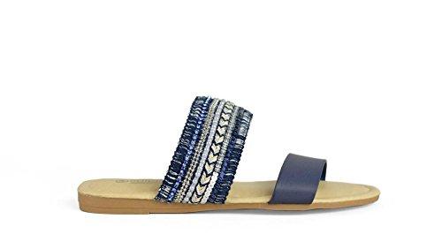 Sandalia 36982 Azul