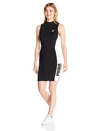 PUMA Women's T7 Dress, Black, S