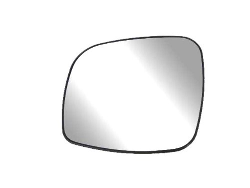 Town & Country Van Mirror - Fit System 33241 Driver Side Heated Replacement Mirror Glass with Backing Plate