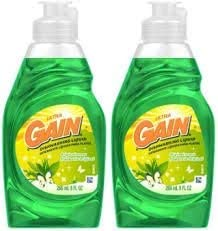 Gain dishwashing liquid original scent 24 fl oz (2 pack)